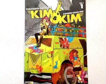 KIM&KIM #1 Variant Cover Devaki Neogi