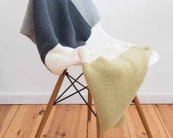 Baby Blanket Throw in multiple colours