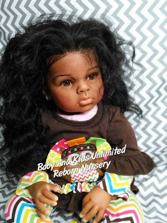 Aa Reborn Toddler Baby Ethnic Toddler Reborn Baby African
