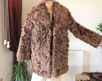 Lamb fur coat/Sheep fur coat/Kid Fur Coat