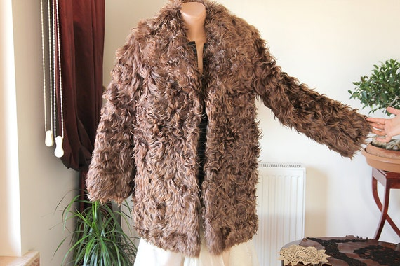 Lamb fur coat/Sheep fur coat/Kid Fur Coat