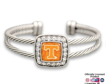 Tennessee Volunteers Square Cuff Bracelet - TEN472733