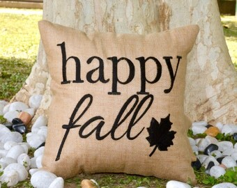 30%OFF Thanksgiving Happy Fall Pillow Cushion Christmas Fall Decor Thanksgiving decor,gift Available in All Sizes And Color INSERT INCLUDED