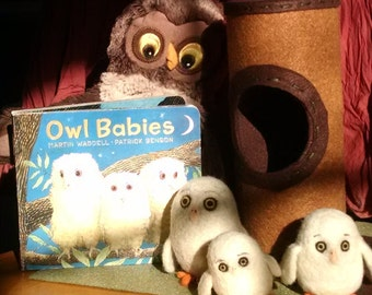 Owl Babies Book, Story Characters and Tree