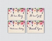 Floral Baby Shower Mini C...