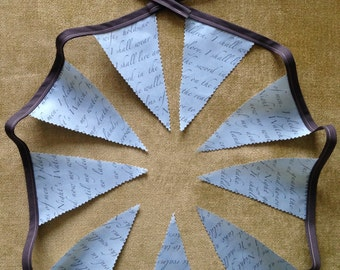 Game of Thrones Fabric Bunting - The Night's Watch
