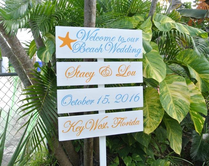 Garden Wedding Decor, Directional Wedding Sign, Welcome Wedding Signage, Personalised Wedding Gift Idea
