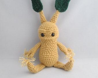 Screaming Baby Plant Buddy Amigurumi/ Soft Toy/ Plushie/Novelty Gift/ Room Decoration