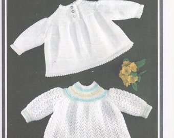 Angel Top, Baby Angel Top, Baby Knitting Pattern, Hayfield 1303, Baby Girls Knitting Pattern, Angel Top Knitting Pattern