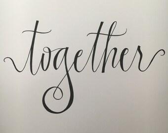 Together - Digital File