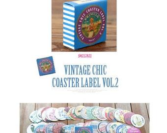Vintage Chic 2 Stickers Pack SM212821 70pcs