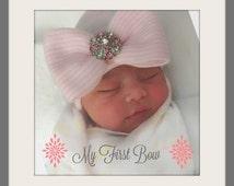 Newborn GIRL HATS, baby girls newborn hat, baby girl hat, girl baby hat, hat baby girl, newborn girl, newborn hat, girl baby newborn