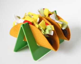 Pretend Food, Felt Food Play Tacos, Play Kitchen, Mexican Food, Imaginative Play, Culture