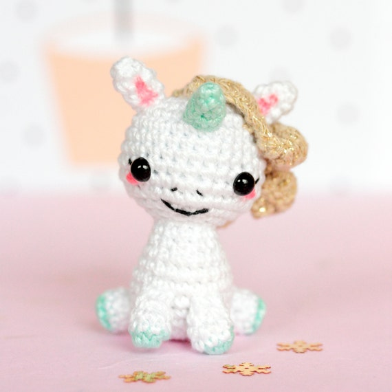 Crochet Unicorn Doll : unicorn plush, Unicorn crochet, Unicorn amigurumi, Stuffed unicorn toy ...