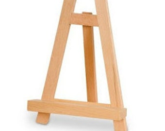 Small Easel - With signage purchase