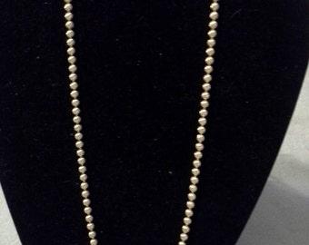 Vintage Amway (signed) Goldtone Beaded Necklace
