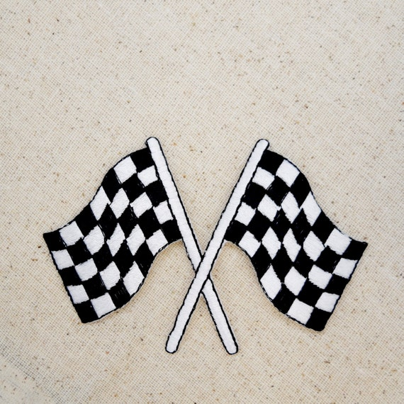 Checkered Flag Rug: Black And White Checkered