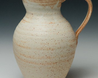 simple clay pitcher