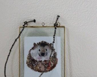 Brass Small Photo Frame // Brass Portrait Photo Frame // Brass Picture Frame