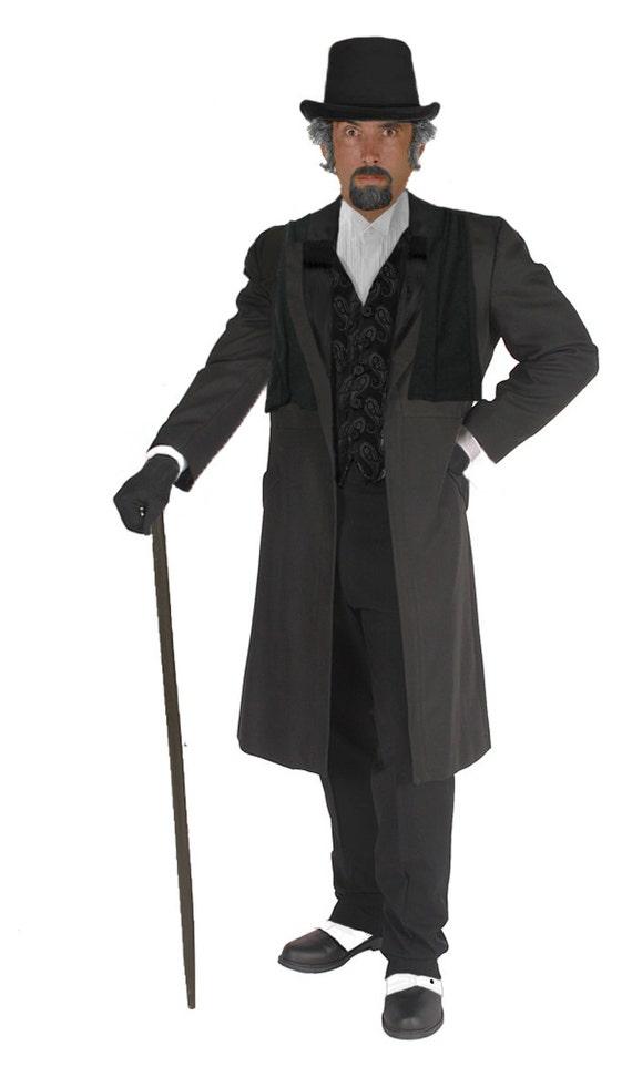 Adult Ebenezer Scrooge Costume Charles Dickens Christmas Carol