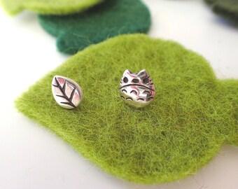 Totoro  Earrings (Studio Ghibli Inspired)