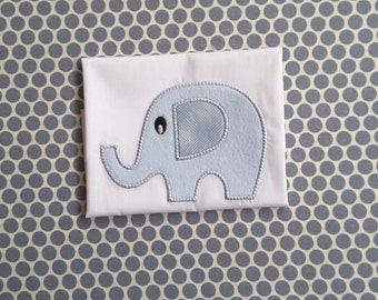 Baby Applique Machine Embroidery Design Elephant