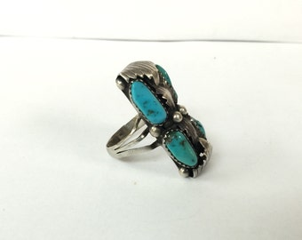 Jackie Singer Navajo Turqouise Ring
