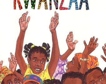 Seven Candles for Kwanza Personalized Book