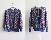 Vintage 90s Cardigan Sweater