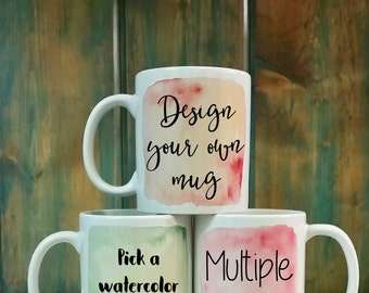 Custom Mug, Personalized mug, Customized mug, unique mug, coffee mug, coffee cup, mugs, dishwasher safe mug