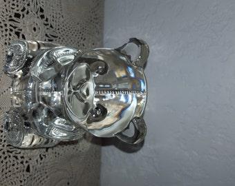Adorable Glass Teddy Bear Tea Candle Holder