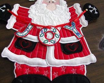 Chistmas Santa door decoration.