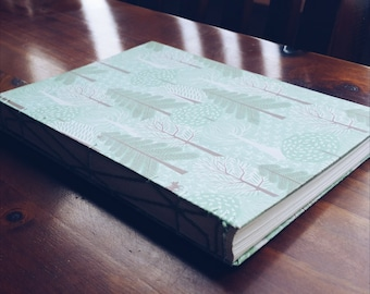 A5 Hardcover, Coptic Stitched Journal With 30 Watercolor Pages