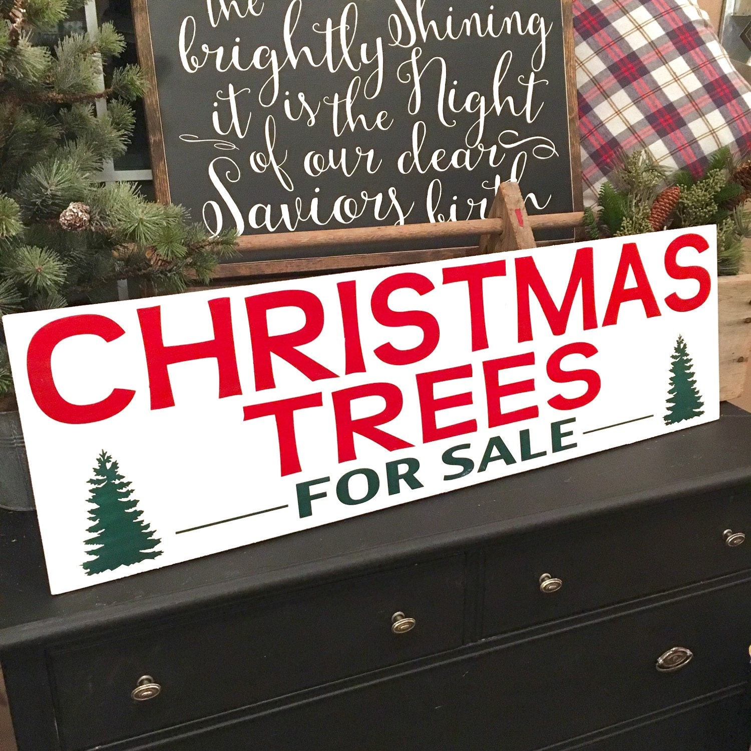 CHRISTMAS TREES For SALE Joanna Gaines By BunkhouseandBroadway