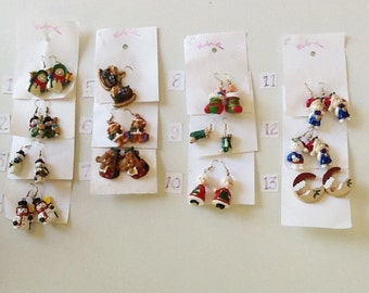 Christmas Miscellaneous Dangle Earrings
