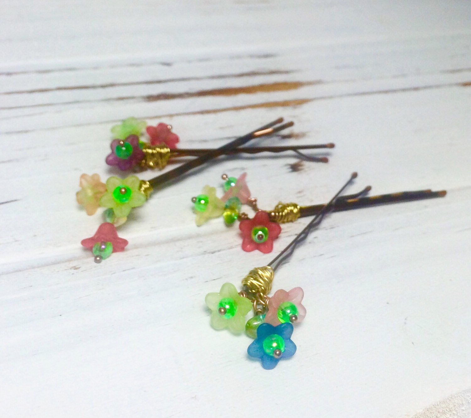 Flower hair clips for girls hair accessories for kids