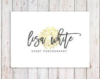 Photography Logo | Calligraphy logo | Modern Logo | Gold Logo | Cute Logo | Rustic Logo | Business Logo | Event Photography Logo