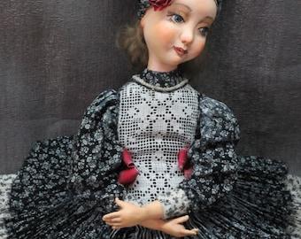 "OOAK art doll ""Maritta"""