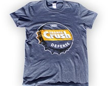 Denver Broncos - Shirt - Orange Crush Defense - Heather Blue
