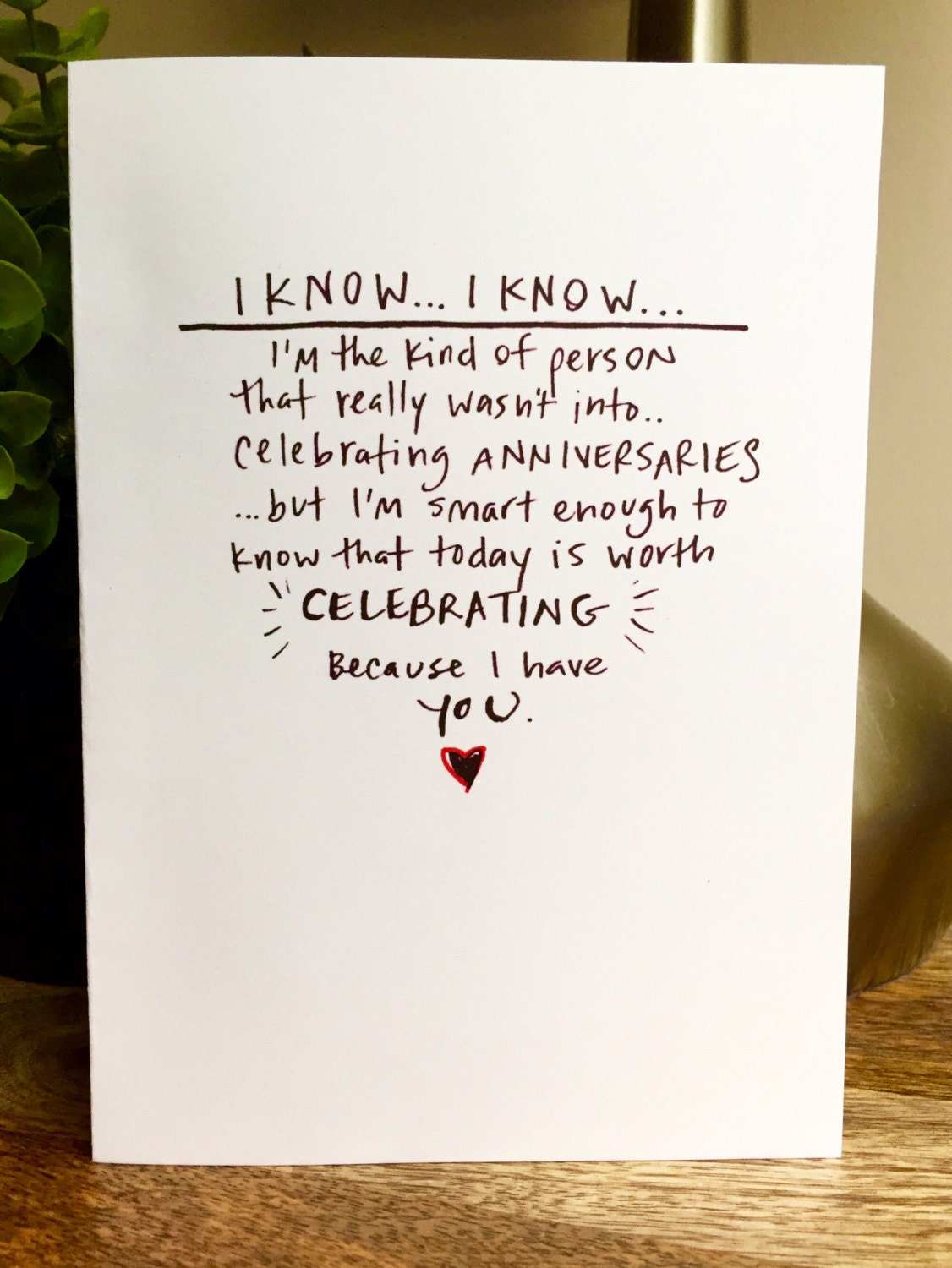 One Year Anniversary Card For Husband on 30th Wedding Anniversary T Ideas For Parents