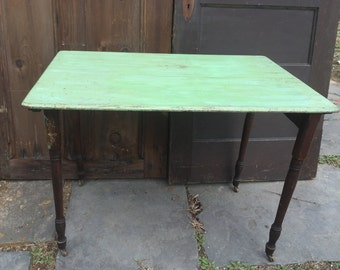 Folding Wood Sewing Table
