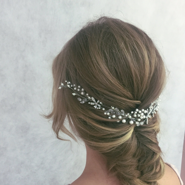 Wedding Hairstyles With Headpiece: Bridal Hair Piece Bridal Headpiece Wedding Headpiece Bridal