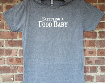 Expecting a Food Baby - Men's tee