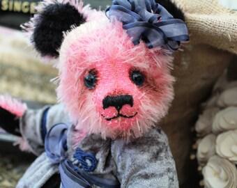 Jemima - ooak artist mohair bear, handmade