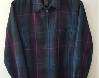 Ralph Lauren Wool Shirt Jacket- Tartan Plaid