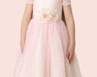 Flower girl dress, couture, first communion, stage performance, wedding dress, Easter dress