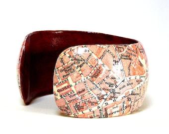 Bangles LONDON 1923 Covent Garden City map