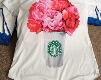 SALE!! Starbucks coffee t-shirt