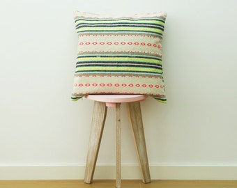 ethnic rustic chic cushion/ pillow cover