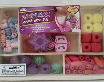 Chanukah Wood Bead Kit
